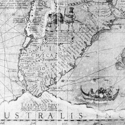Terra Del Fuoco (Hondius - 1608)