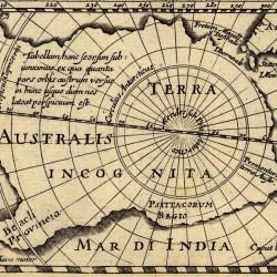 Terra Australis Incognita (Hondius - 1618)