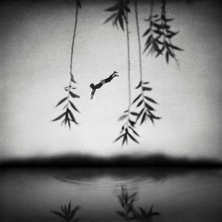 Xiaoliang Huang (Drifting, 2013) - Magda Danysz