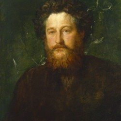 NPG 1078; William Morris by George Frederic Watts