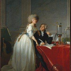 Antoine Laurent de Lavoisier, peint par David
