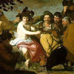 Diego Velazquez - Le festin de Bacchus