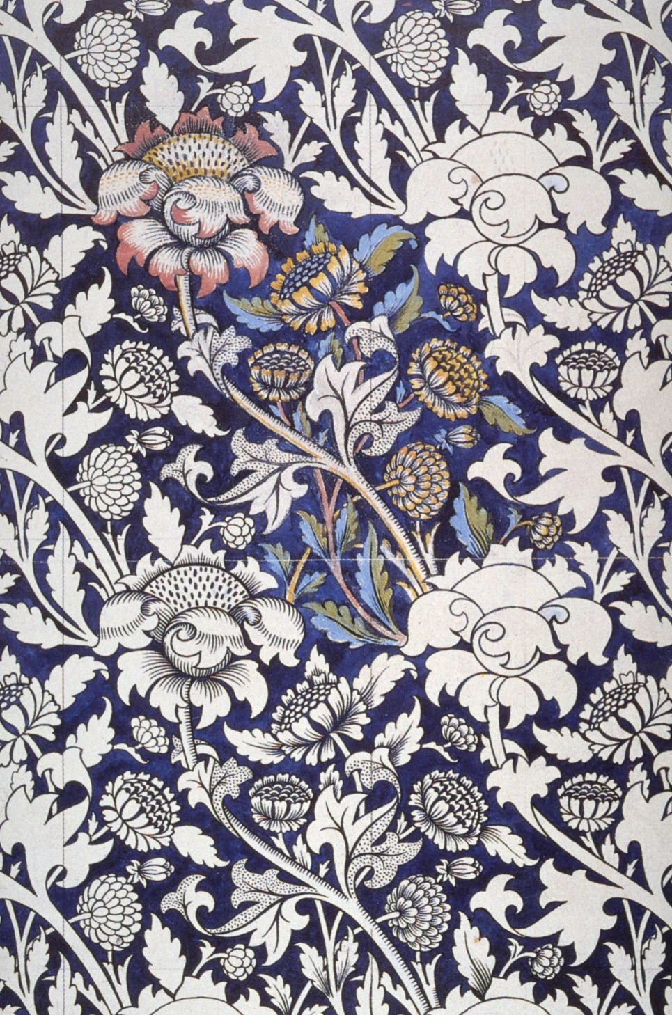 William morris the mind of a visionary artist memento for Modern fabrics textiles