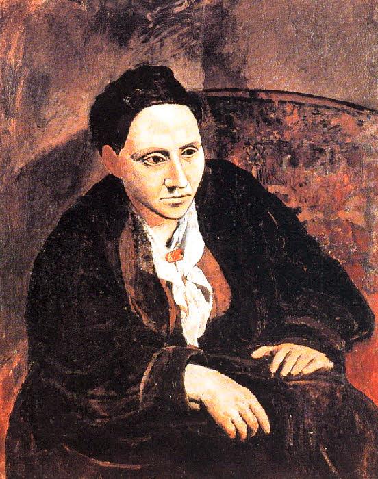 Pablo Picasso - portrait de Gertrude Stein