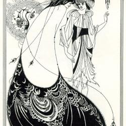 Aubrey Beardsley - peacockskirt