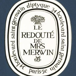 Le redouté de Mrs Merwin Etiquette de