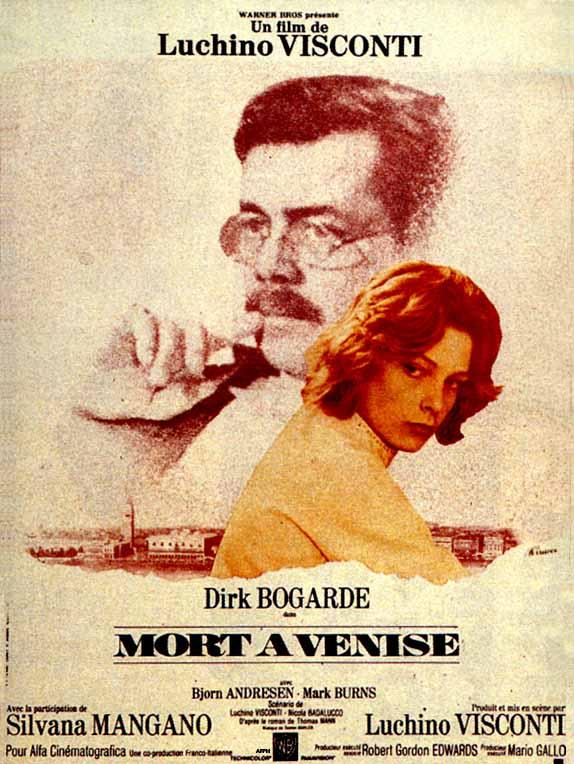 Mort à Venise - affiche du film