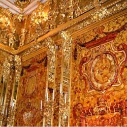 Tsarkoïe Selo - chambre d'ambre 1