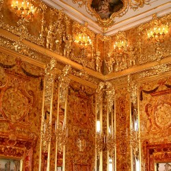 Tsarkoïe Selo - chambre d'ambre 3