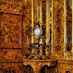 Tsarkoïe Selo - chambre d'ambre 4