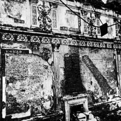 Tsarkoïe Selo - chambre d'ambre d'origine après retrait des paneaux)