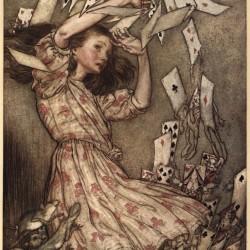 arthur rackham - Alice 1