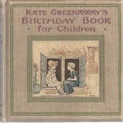 kate greenaway - birthday book 2