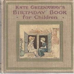 kate greenaway - birthday book 2