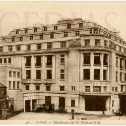 Maison de la Mutualité années 30 -  extérieur