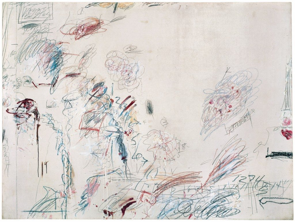 Twombly, Cy Second Voyage to Italy (Second Version),  1962 Copyright et Credit photo: © Cy Twombly Foundation. Photo SFMOMA