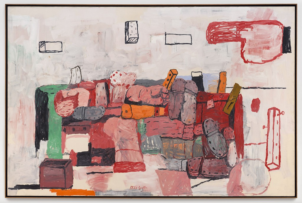 Guston, Philip, Evidence , 1970, Copyright et Credit photo: © Estate of Philip Guston. Photo SFMOMA / Ben Blackwell