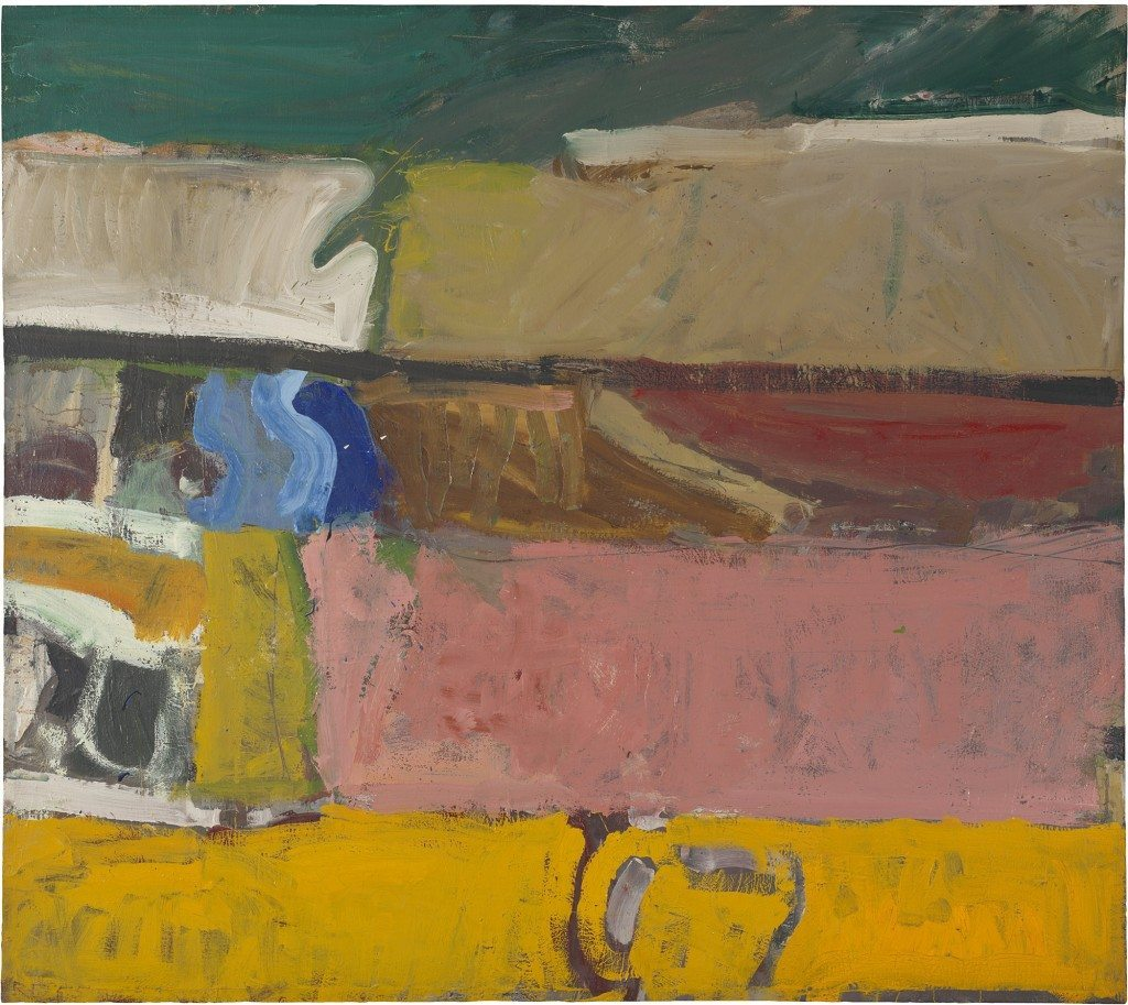 Diebenkorn, Richard, Berkeley #47 , 1955, Copyright et Credit photo © The Richard Diebenkorn Foundation. Photo SFMOMA