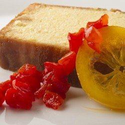 Cake au citron et poivrons rouges© Jacques Gavard