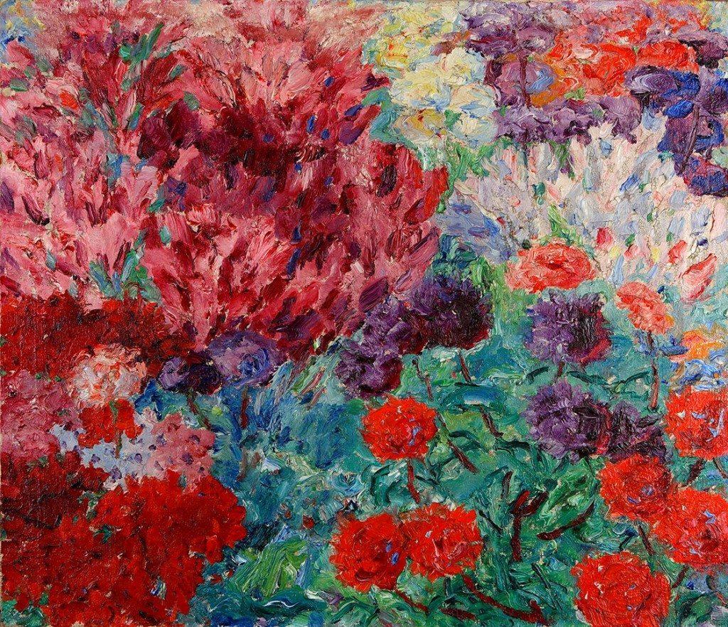 EmilNolde-Blumengarten(ohne+Figur)1908