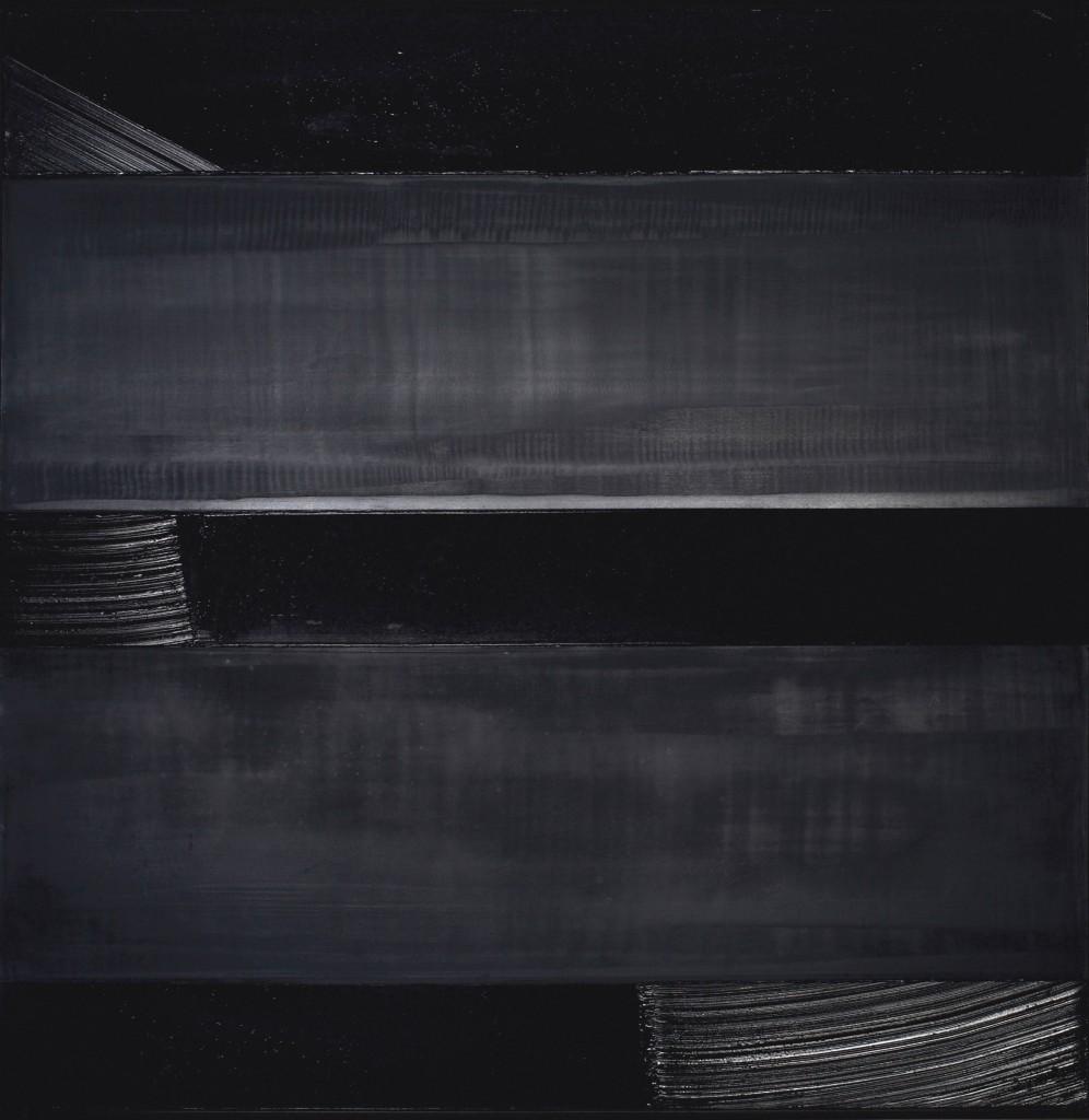 Pierre Soulages, Peinture 136 x 136 cm, 24 décembre 1990. Copyright: © Christie's Images, 2015.