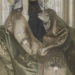 L'encens - Fernand Khnopff (1858-1921)