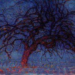L'arbre rouge, 1909 (Piet Mondrian, 1872-1944)