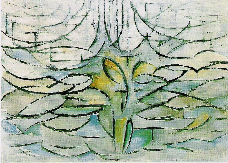 Les arbres de mondrian memento - L arbre le pommier ...