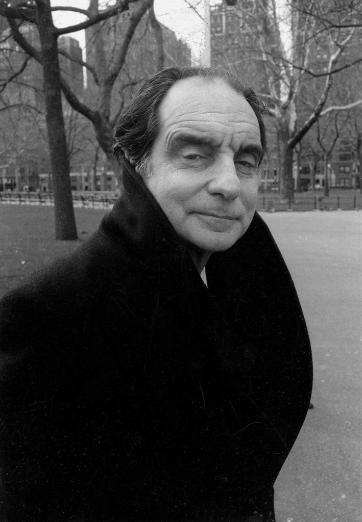 Italo Calvino à New York en 1983 (photographie ©Dominique Nabokov)