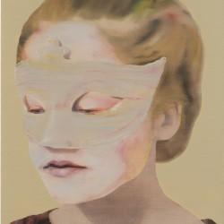 Untitled, 4050150 (Katinka Lampe, peinture de 2015 - courtesy Galerie Les Filles du Calvaire)