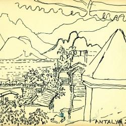 Dessin de Desmond Knox-Leet: Antalya