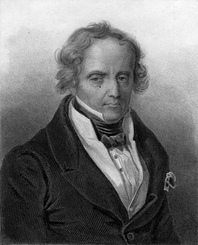 Xavier de Maistre (1763-1852), gravure de Cyprien Jacquemin