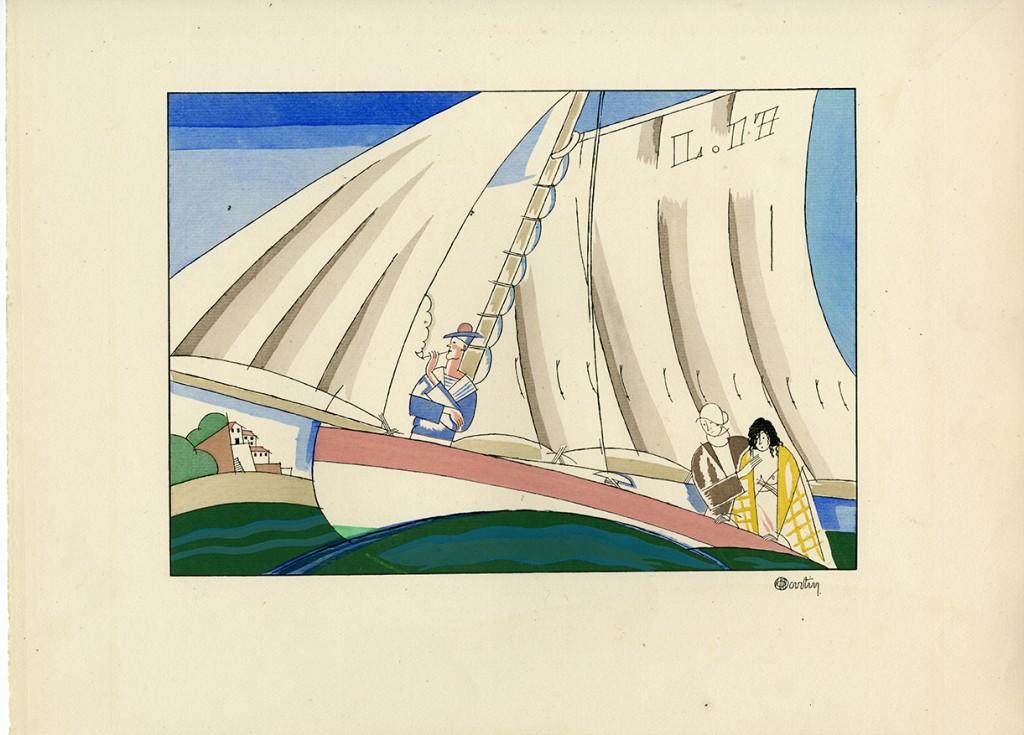 Sports et divertissements, partition imagée d'Erik Satie (1886-1925)