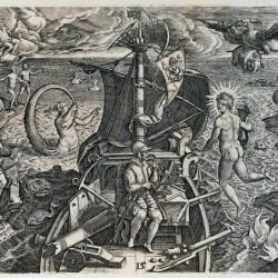 Voyage de Magellan (Gravure (vers 1590) de Jean-Théodore de Bry. (Bibliothèque nationale de France, Paris.)