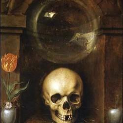 Vanitas, par Jacob de Gheyn (vers 1565-1629)