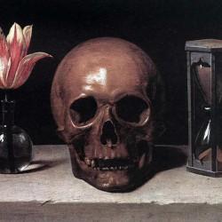 Nature morte avec crâne, par Philippe de Champaigne (1602-1674)