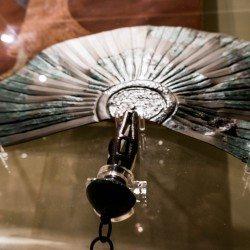 Eventail étrusque, Musée archéologique de Florence
