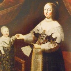 Anne D'Autriche (1601-1666), épouse de Louis XIII, Château de Chambord