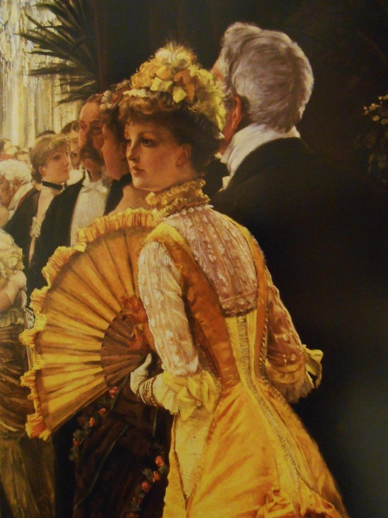 La robe Jaune (James Tissot, 1836-1902), Musée d'Orsay