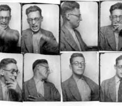 Raymond Queneau - photomaton