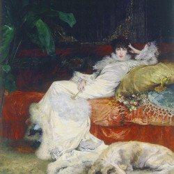 Portrait de Sarah Bernhardt (Georges Clairin, 1843-1919), Musée du Petit Palais