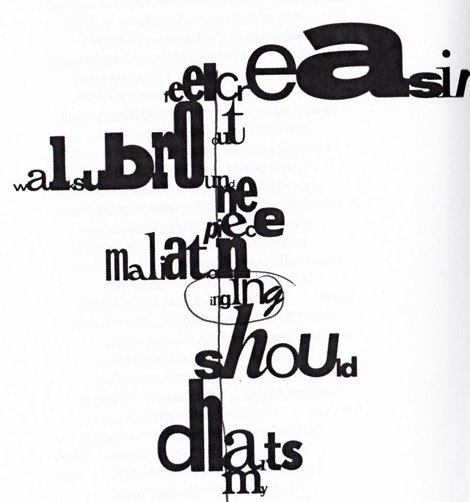 John Cage - mesostics