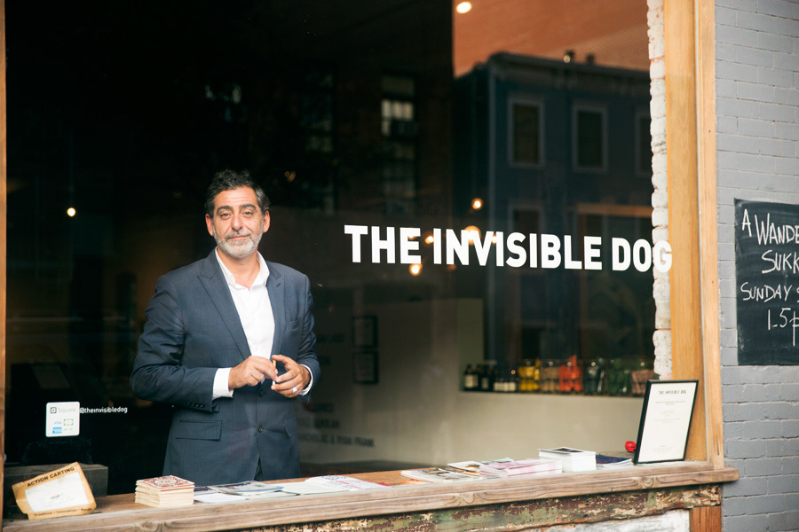 Lucien Zayan - The Invisible Dog, Brooklyn