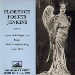 Edition américaine de certains des enregistrements de Florence Foster Jenkins
