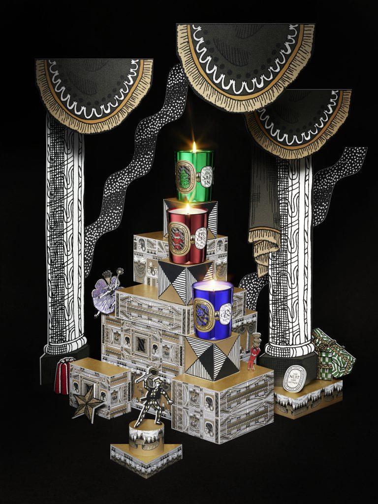 Une Nuit chez diptyque : les trois bougies de Noël