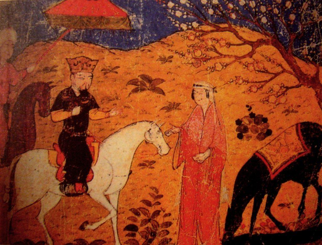 Septième ilkhan de Perse, l'illkhanide Ghazan Mahmud Khan (1271-1304) était l'arrière-petit-fils d'Houlagou Khan (lui-même petit fils de Genis Khan), fondateur des la dynastie mongole des Houlagides (ou Ilkhanides).
