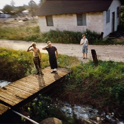 Paul Fusco, Untitled from RFK train, 1968. Galerie: Danziger.
