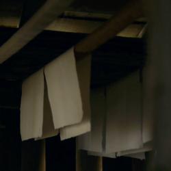 """Papier """"pur chiffon"""", à la papèterie artisanale Le Moulin du Verger."""
