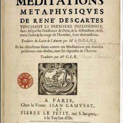 Les Méditations Métaphysiques de René Descartes