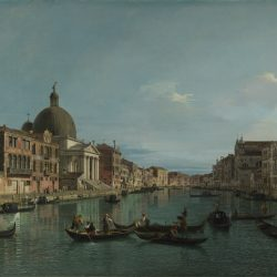 Canaletto (1697-1768) - Venise: le Grand Canal avec Simeone Piccolo (1740), National Gallery (©The National Gallery, London)